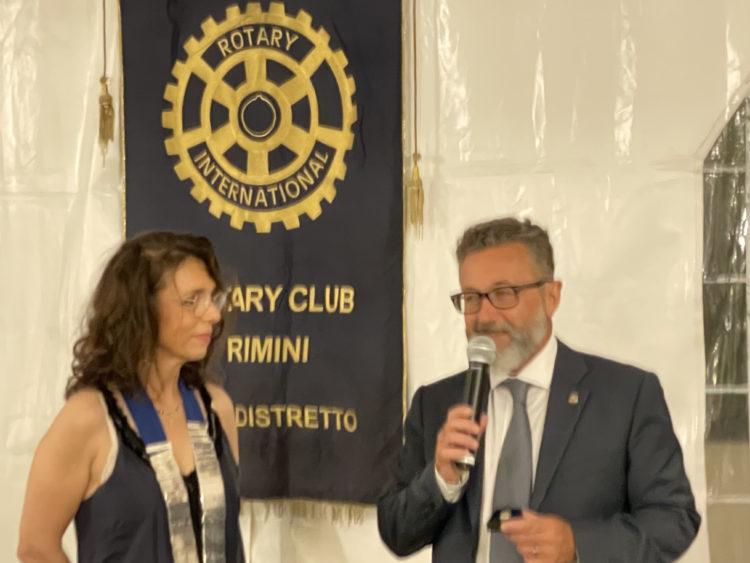 Alessandro Andreini riceve il Alvaro Zavaglia riceve il Paul Harris Fellow