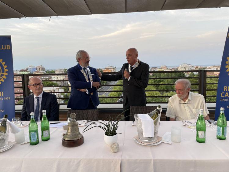 Intervento del Presidente del Rotary Club Riccione Cattolica