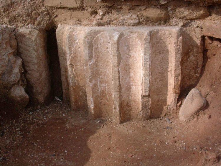Pilastro romano a San Lorenzo a Monte