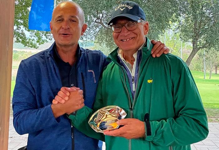 Alessandro Annibali premiato da Fabio Assirelli Sampaolesi